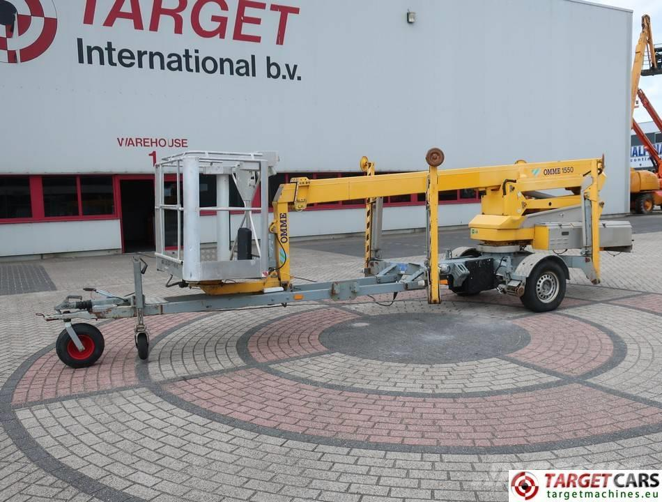 Omme 1550EZX Articulated Towable Boom Work Lift 1530cm