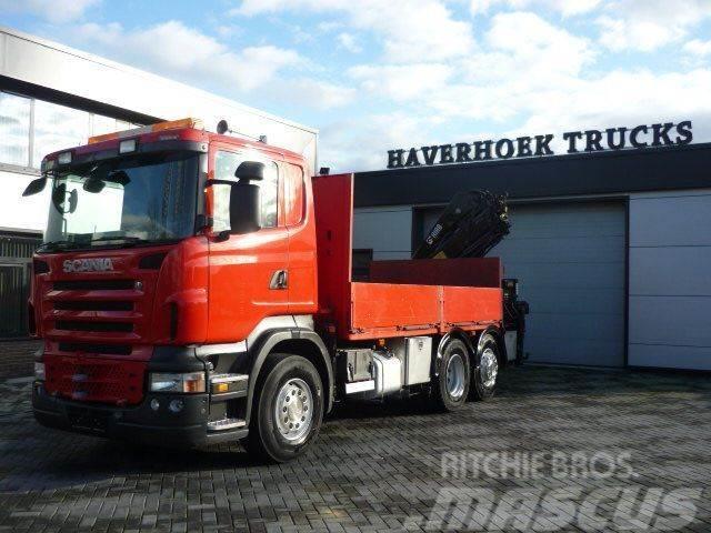 Scania R 480 6x2-4 euro 4 Retarder Hiab 244EP-3 Hipro
