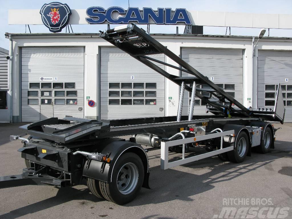 SLP 3-Axlig lastväxlarsläp med tipp SLP-3-7600-vs