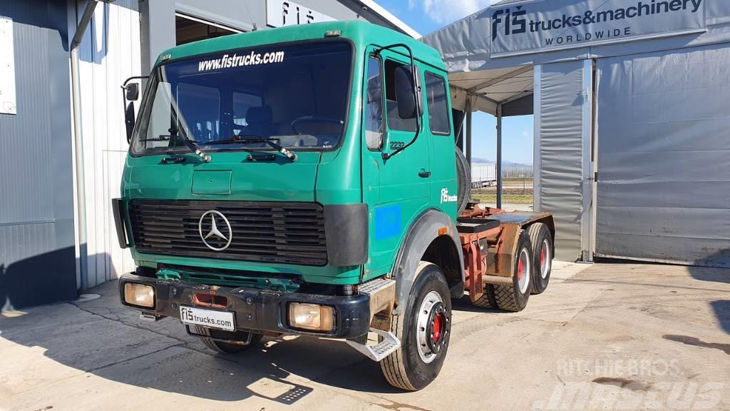 Mercedes-Benz 2232 S 6X4 tractor unit - 388.000km