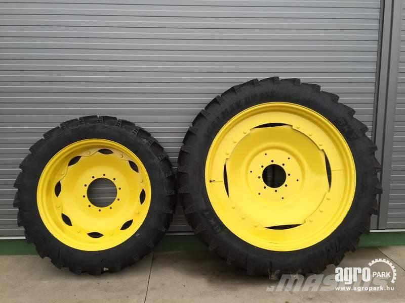 BKT NEW Adjustable row crop wheel set 11.2R36 and 13.6