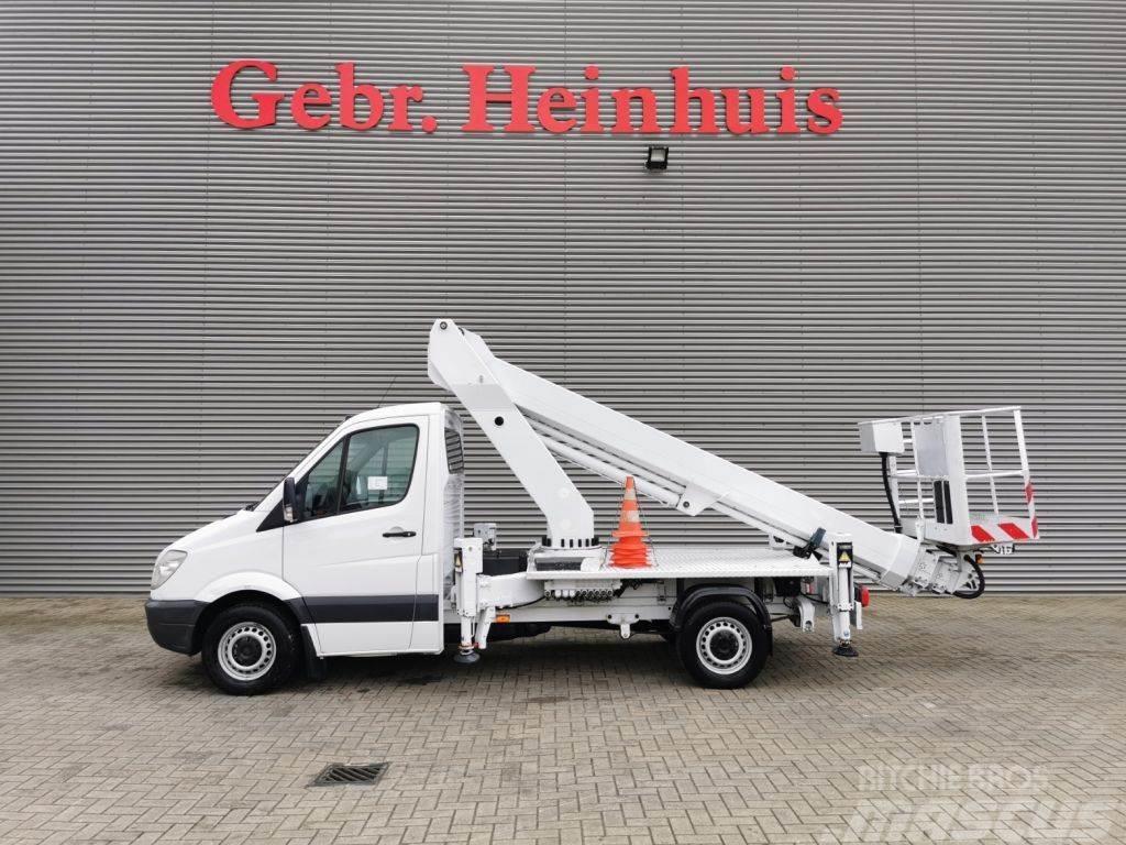 Mercedes-Benz Sprinter 313 CDI Ruthmann TB 220 22 Meter!