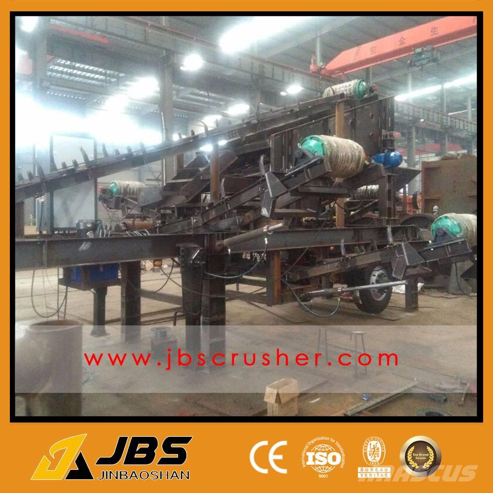 JBS 25-30TPH MOBILE STONE CRUSHER