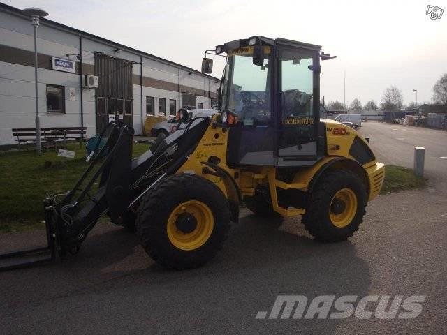 New Holland W 80 B, Uthyres