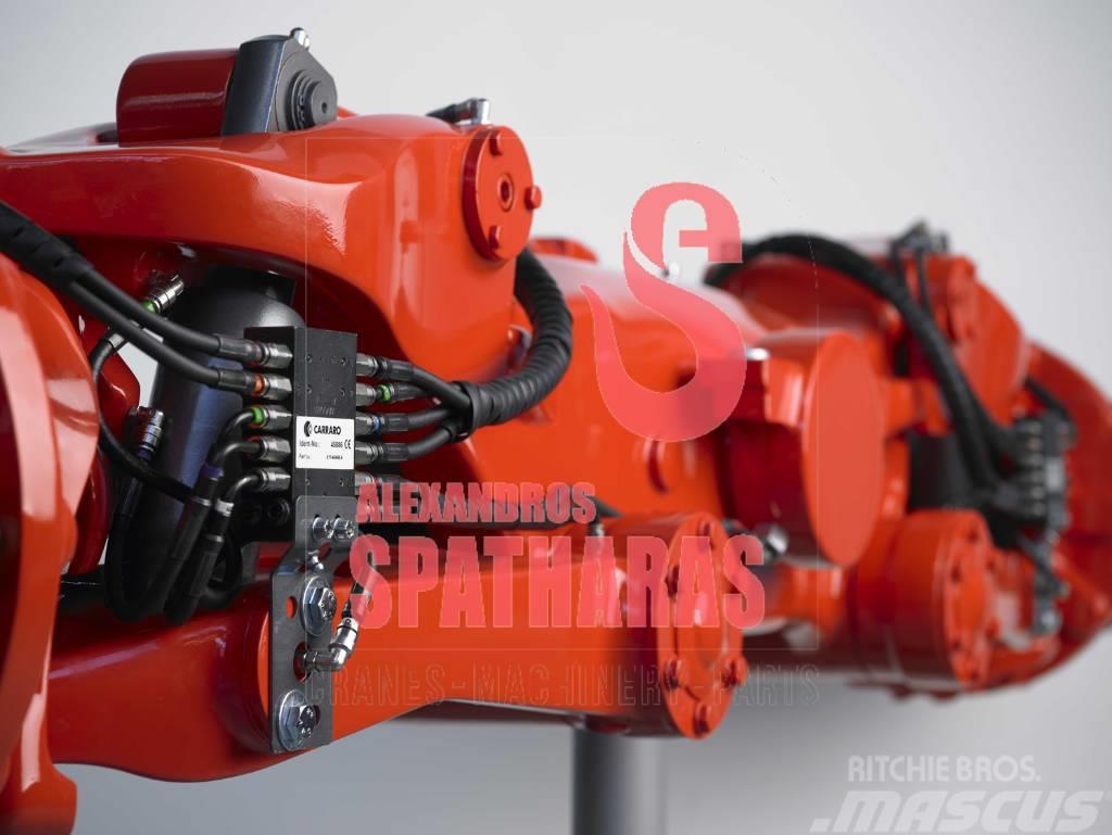 Carraro 864155drum brakes, various parts