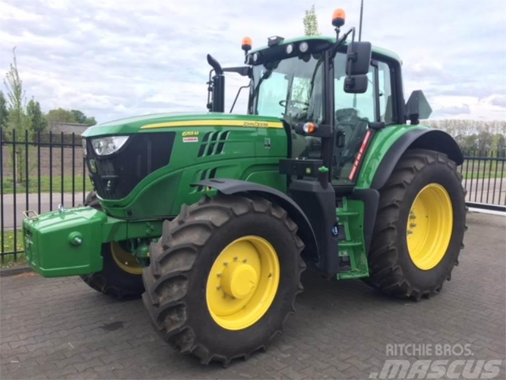 John Deere 6 155m Tractor Esbeek Bouwjaar 2018 Prijs 82500