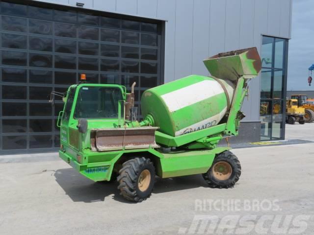 Merlo DBM 3500 EV Self loading concrete mixer