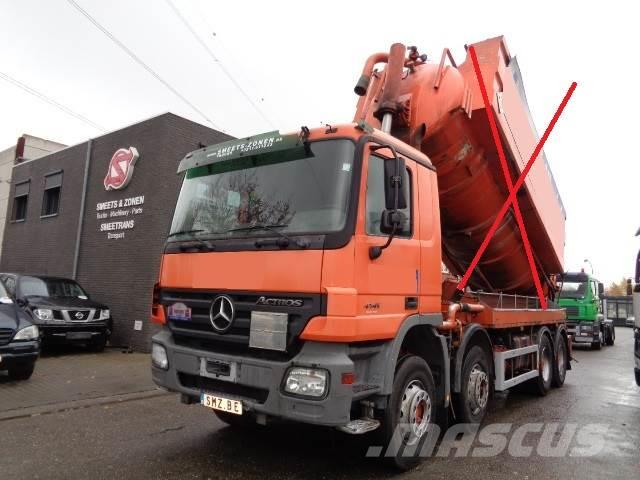 Mercedes-Benz Actros 4141 CHASSIS no tank!
