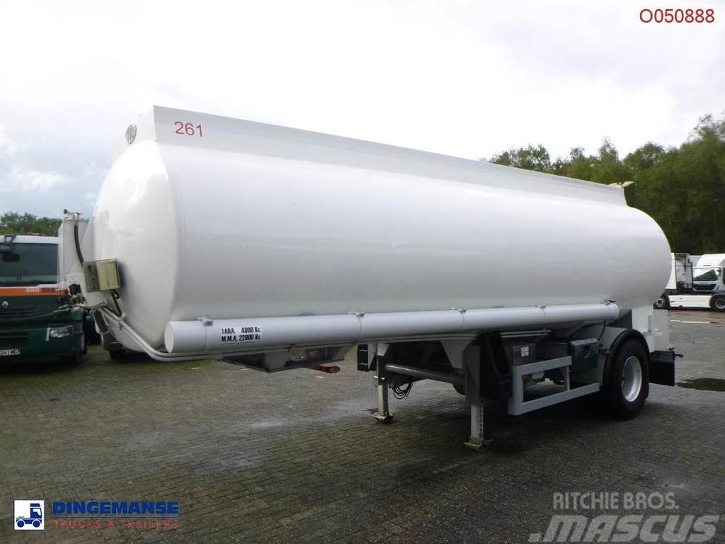 Indox Fuel tank alu 23.8 m3 / 4 comp + pump