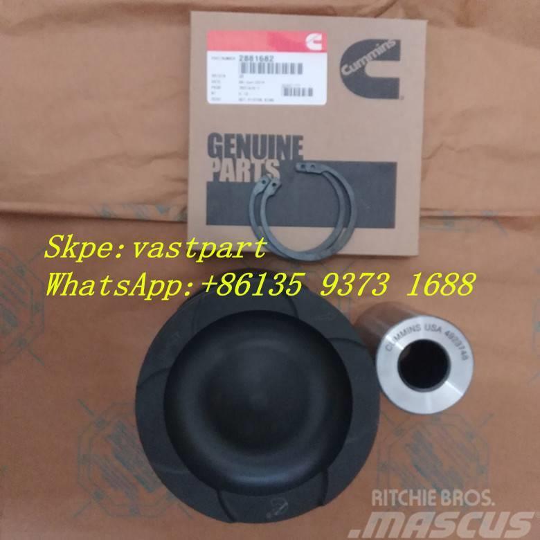 Cummins Qsx15 Isx15 Engine Piston 4298992 4923744 4059345