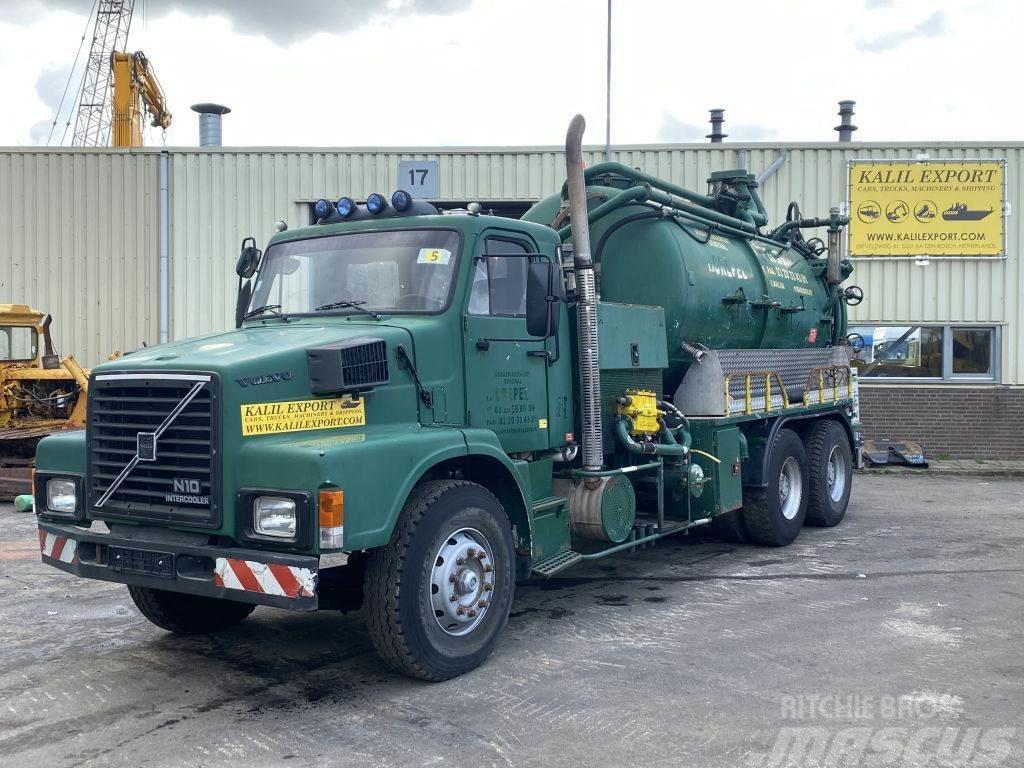 Volvo N10 Vacuum Toilet Truck 15.000L 6x4 Good Condition