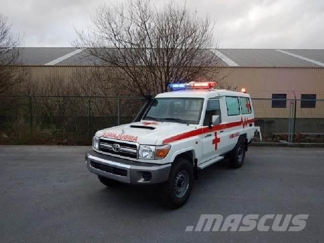 Toyota Land Cruiser Diesel >> Toyota Land Cruiser Ambulance Vdj 78 4 5l Turbo Diesel