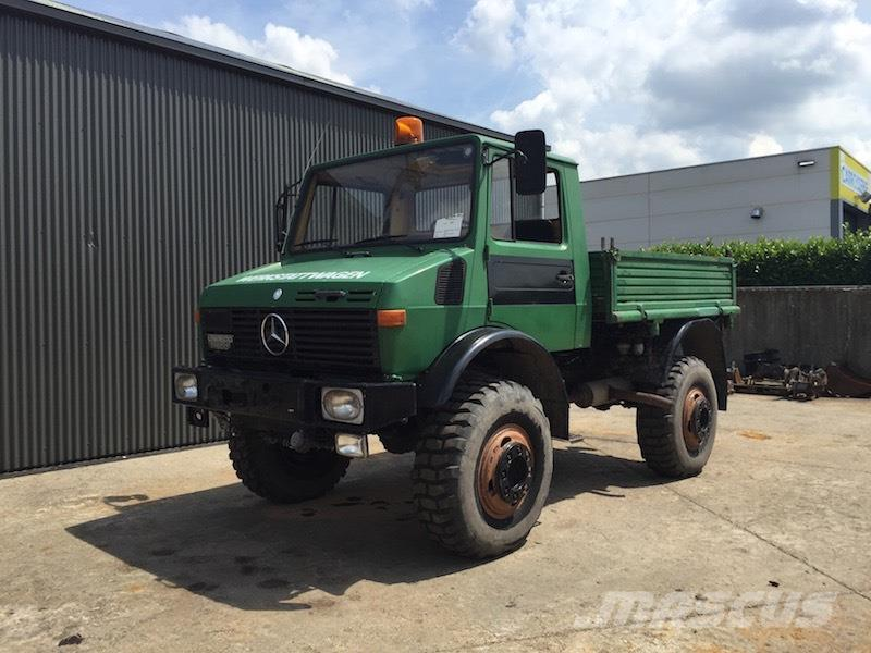 Used mercedes benz unimog u1500 dump trucks year 1978 for Mercedes benz unimog for sale usa