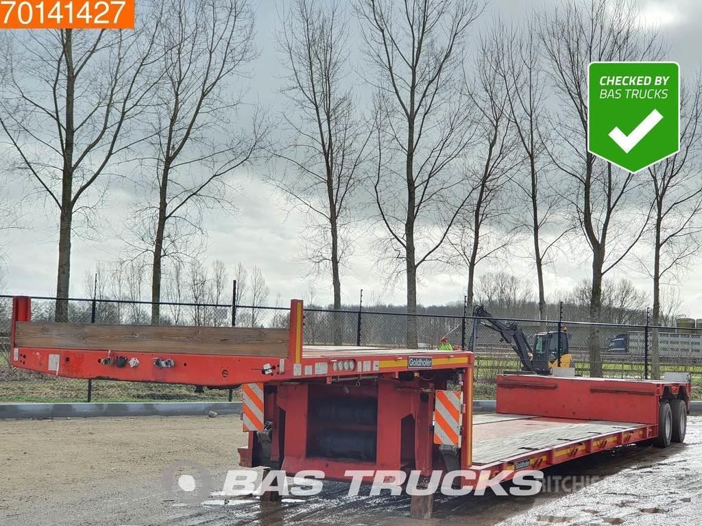 Goldhofer STZ-TL2-26/80 2 axles 2x Hydr. Lenkachsen