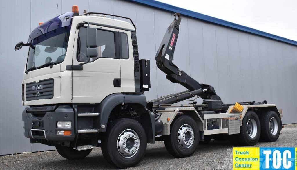 MAN TGA 35.430 8x4 Retarder Multilift