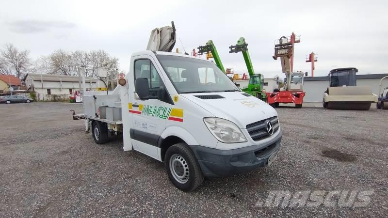 Mercedes-Benz Sprinter Multitel MT182 AZ - 18m, 200kg