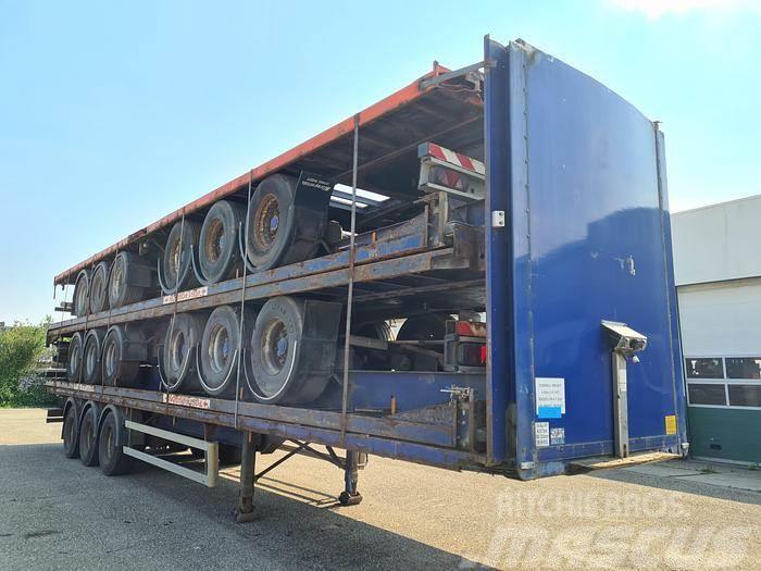 Montracon 3 axle / air suspension / ROR