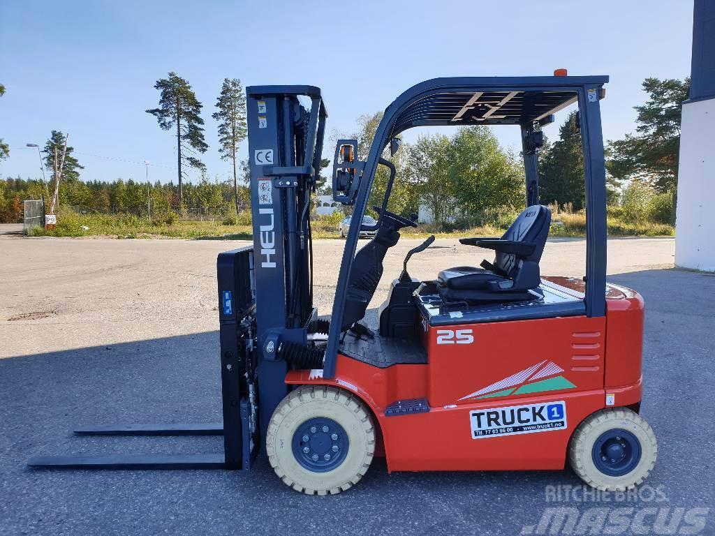 Heli CPD25-GD2 - 2,5 t el. truck - 4,7 m LH