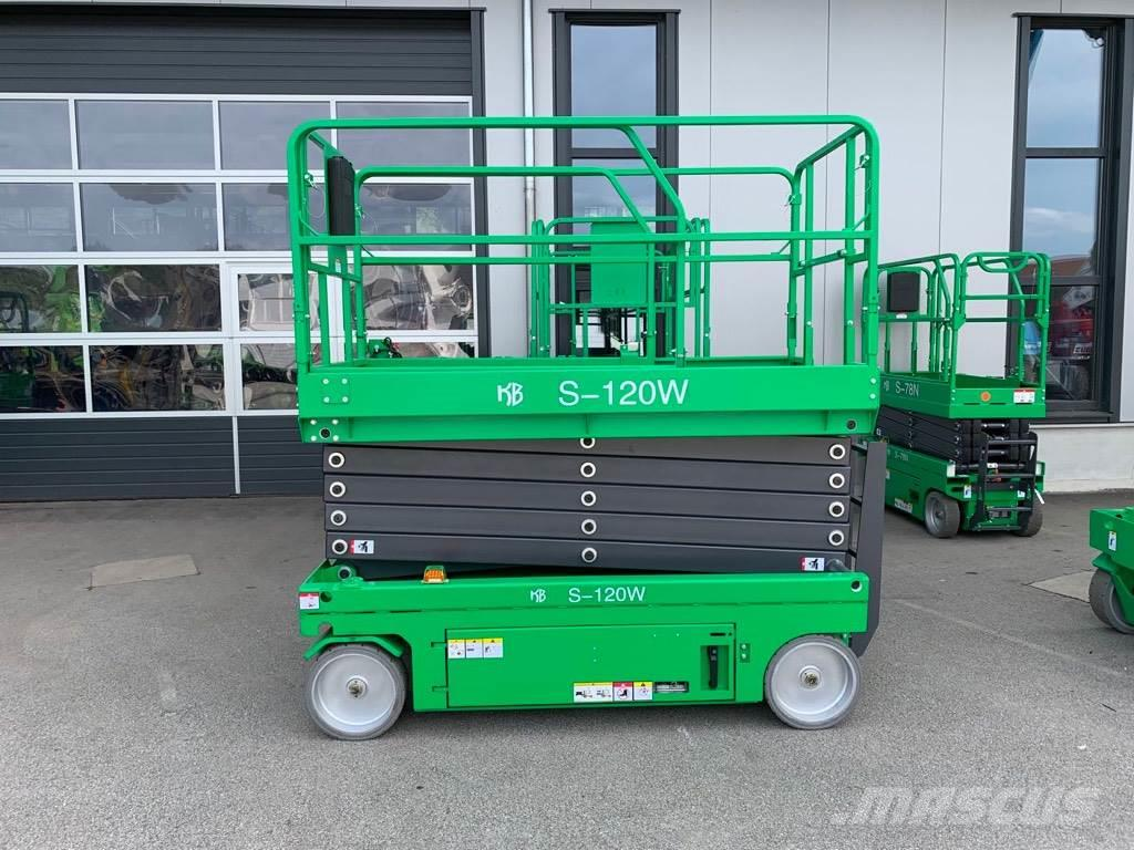 KB-Lift S-120W, NEW 12m electric scissor lift, warranty