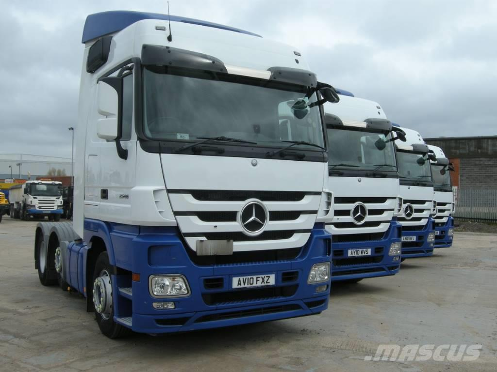 Used mercedes benz actros tractor units year 2010 price for Mercedes benz address