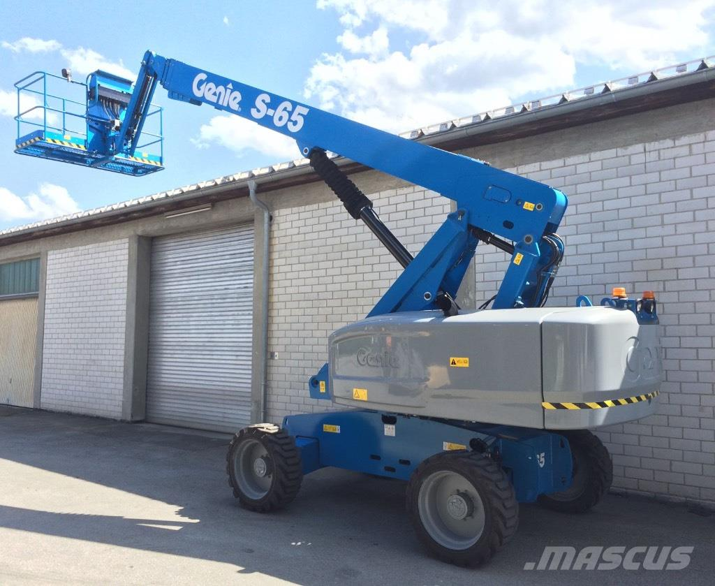 Genie S-65 4x4 diesel, new with warranty, 22m boom lift