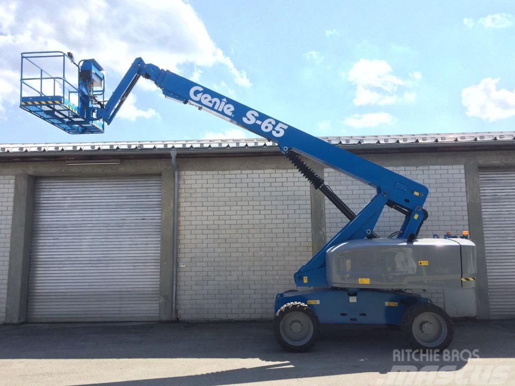 Genie Man Lifts : Genie s diesel new with warranty m boom lift