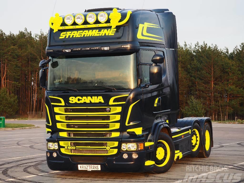 Scania R500 6X2 PUSCHER 2013 STREAMLINE