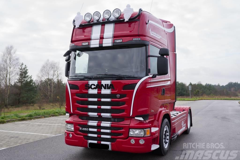 Scania R450 STREAMLINE TOPLINE EURO6 KONTRAKT