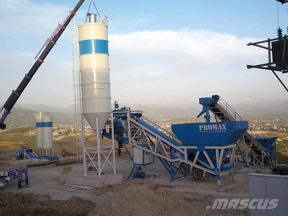 Promax-Star Mobile Concrete Batching Plant  M100-SNG