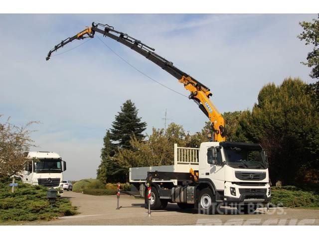 Volvo FMX 5dkm!! DACH/ROOF CRANE 30tm+JIB+WINCH