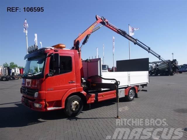 Mercedes-Benz ATEGO 818 4X2 PALFINGER PK6501 MANUAL EURO 3
