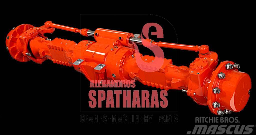 Carraro 49262drum brakes, clamps