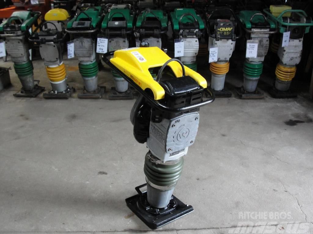 Wacker Neuson BS60-2 600 Stampfer Rammer Vibrator NR 170