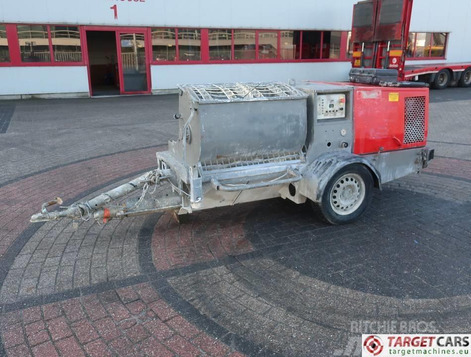 Putzmeister SP11 DMT Worm Plastering Machine Diesel
