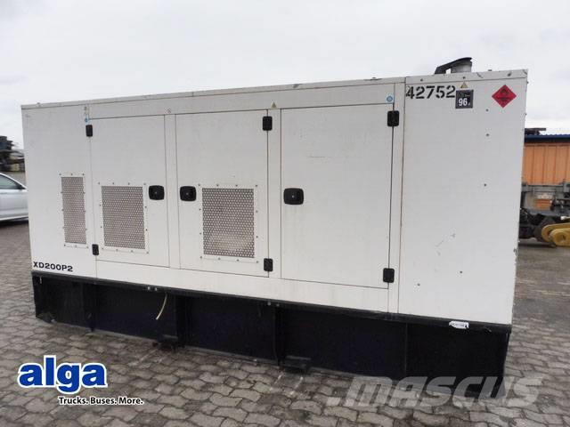 Wilson XD200PS, Stromgenerator, 200KvA, 160KW