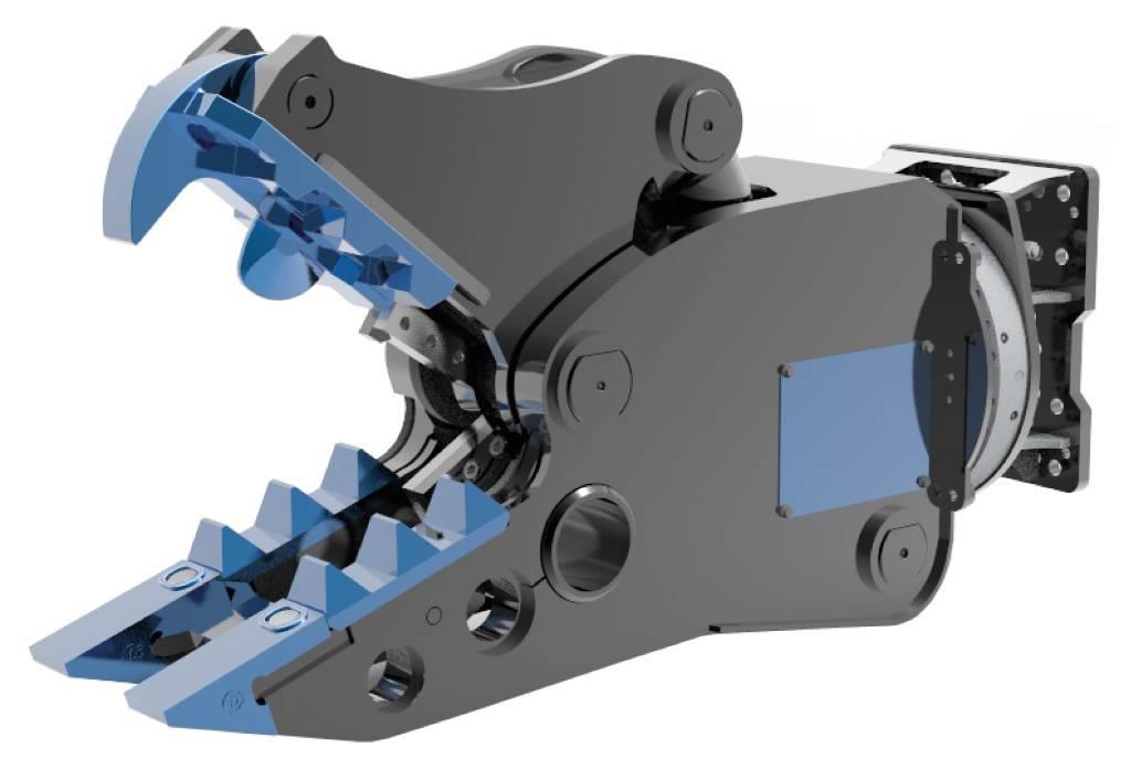 Hammer NGK 2500 Hydraulic Rotating Crusher 2400KG