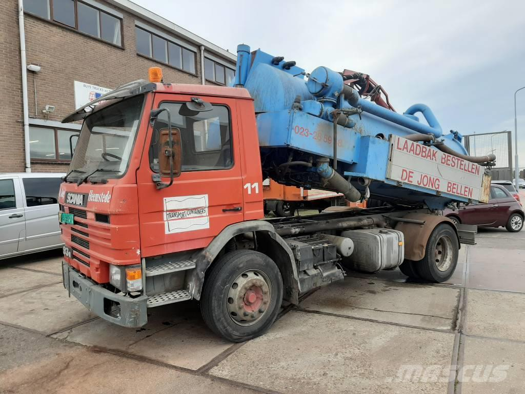 Scania P93 kolkenzuiger