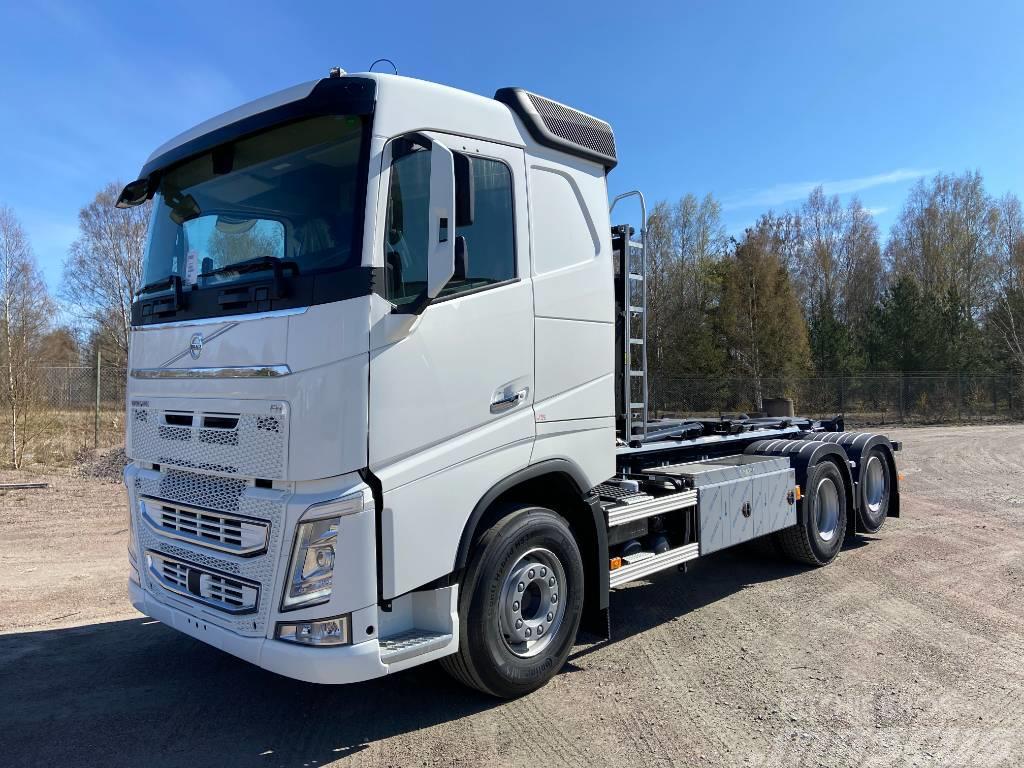 Volvo FH500 6x4 HIAB Lastväxlare