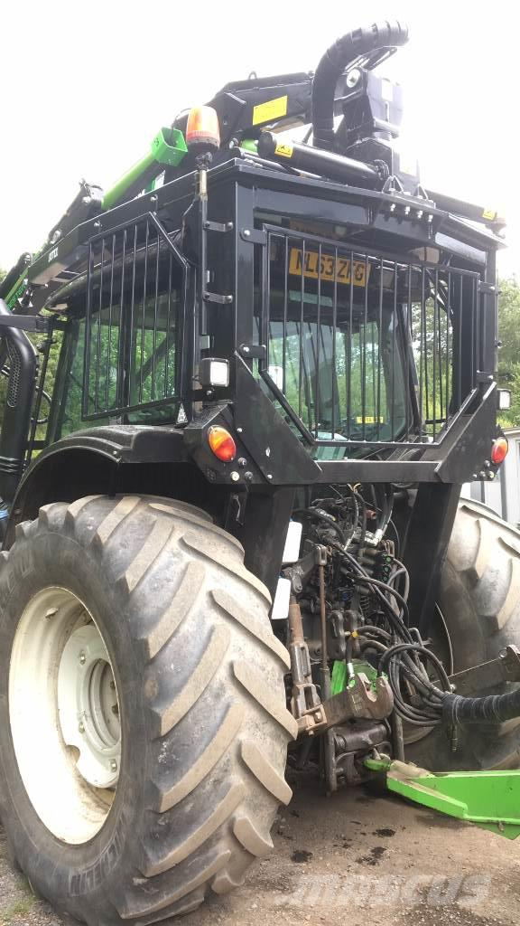 Valtra T163 Direct c/w New Botex 580C Roof Mounted Crane