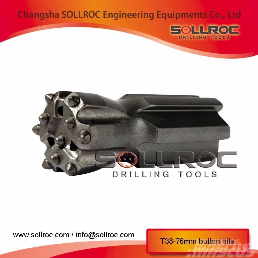 Sollroc brocas de botones (T38, T45, T51, ST58, GT