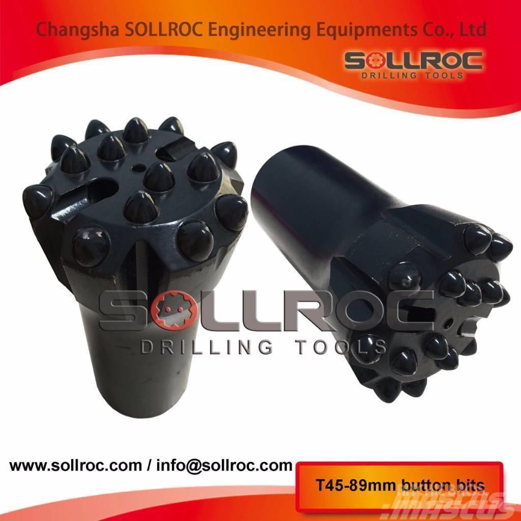 Sollroc brocas de botones (T38, T45, T51, ST58, GT, 2017, Tillbehör och reservdelar till borrutrustning