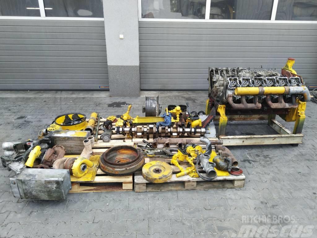 Deutz Silnik Engine Motor BF12L413F na części,  for part