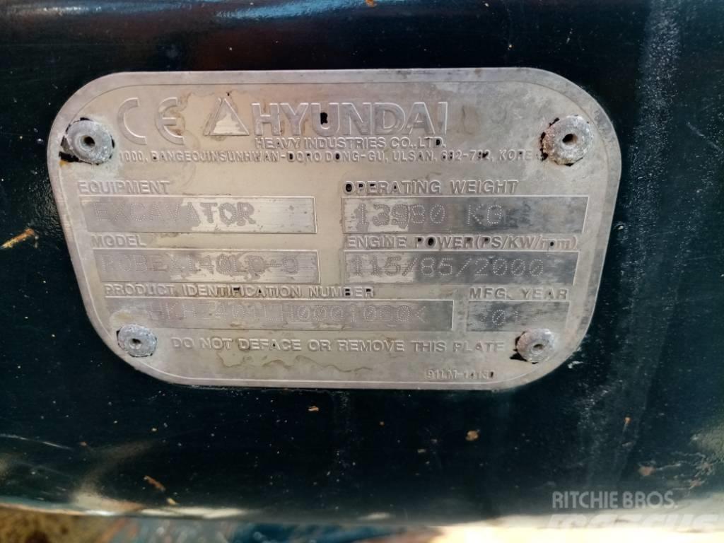 Hyundai Robex 140 LC-9