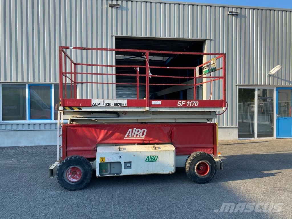 Airo SF 1170, Schaar hoogwerker, 13,7 meter