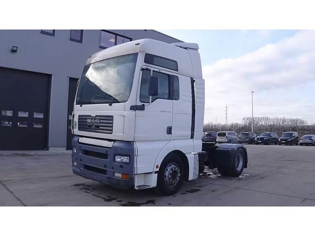 MAN TGA 18.410 (MANUAL PUMP AND GEARBOX)