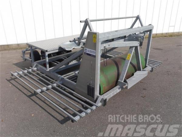 Van den Beucken bandplantmachine voor perskluitjes Duijndam Machin