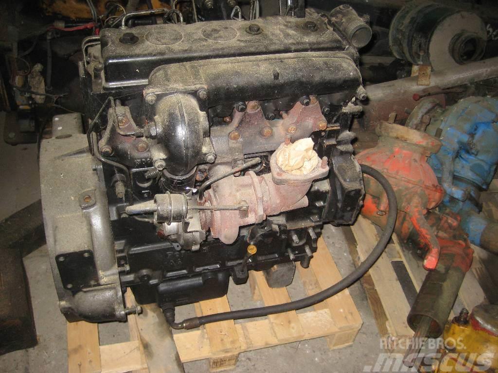 Timberjack 810 B Motor u. Hydraulikbaugruppen