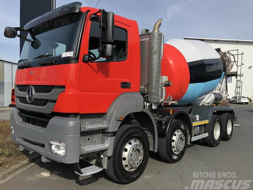 Mercedes-Benz Axor 3240 B 8x4 Concrete truck 9m3