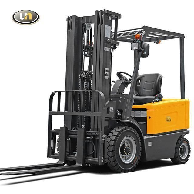 UN Forklift FB30 3Ton 4-Wheel Electric Forklift ZAPI 80V/500AH