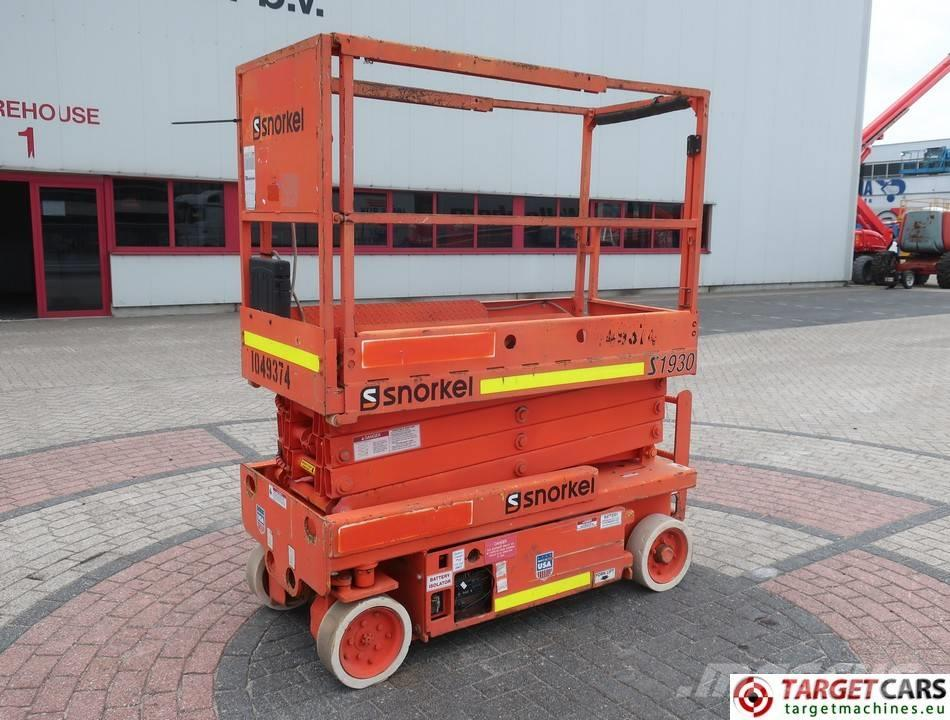 Snorkel S1930 Electric Scissor Work Lift 780cm
